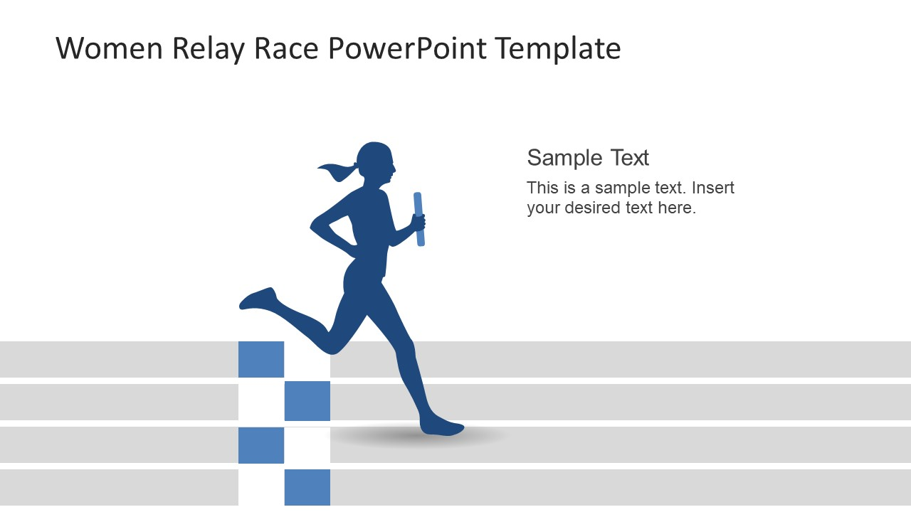 PowerPoint Racing Presentation Finish Line
