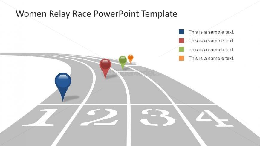 PowerPoint Roadmap Template Diagram