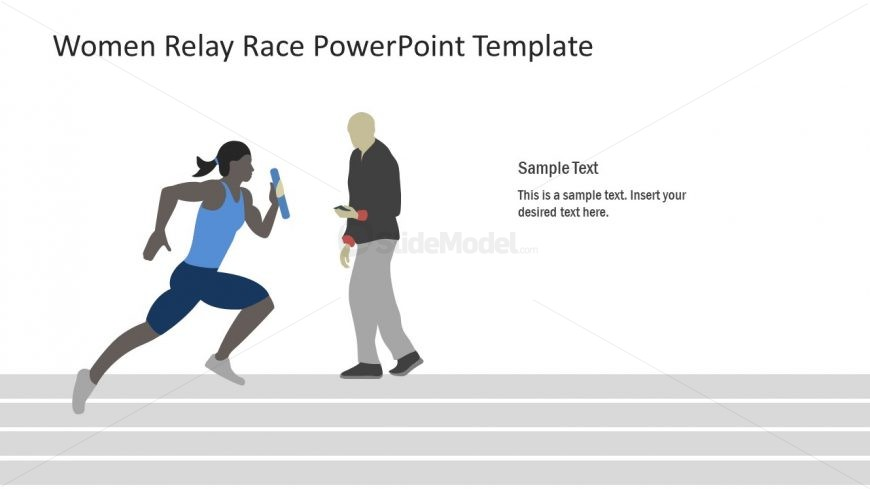 Presentation Design of Relay Race Training