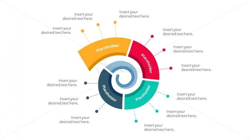 Creative Spiral Diagram Template