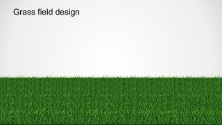 Creative PowerPoint Grass Design Template Backgrounds