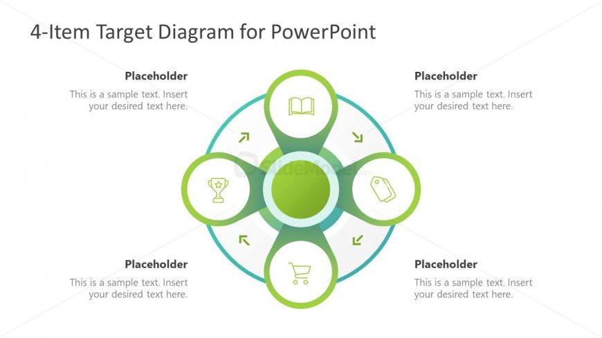 4 Items Clipart Flower Diagram