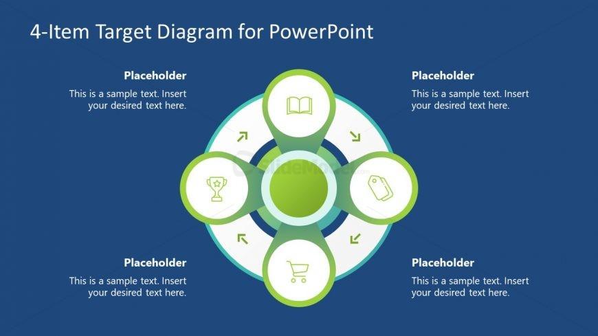 PowerPoint Diagram Target Templates