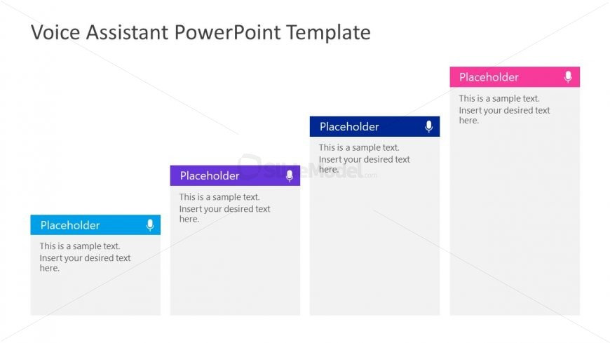 4 Steps Template for Voice Assistant