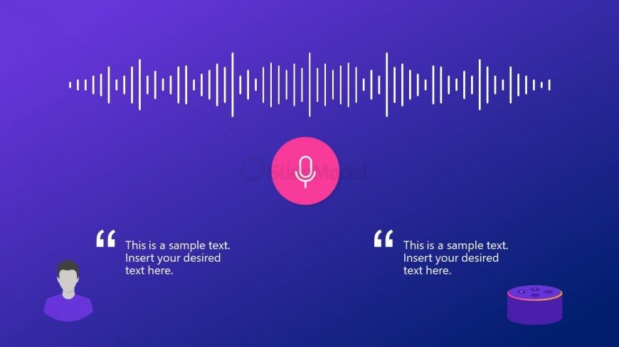 Presentation of Infographic Voice Assistant