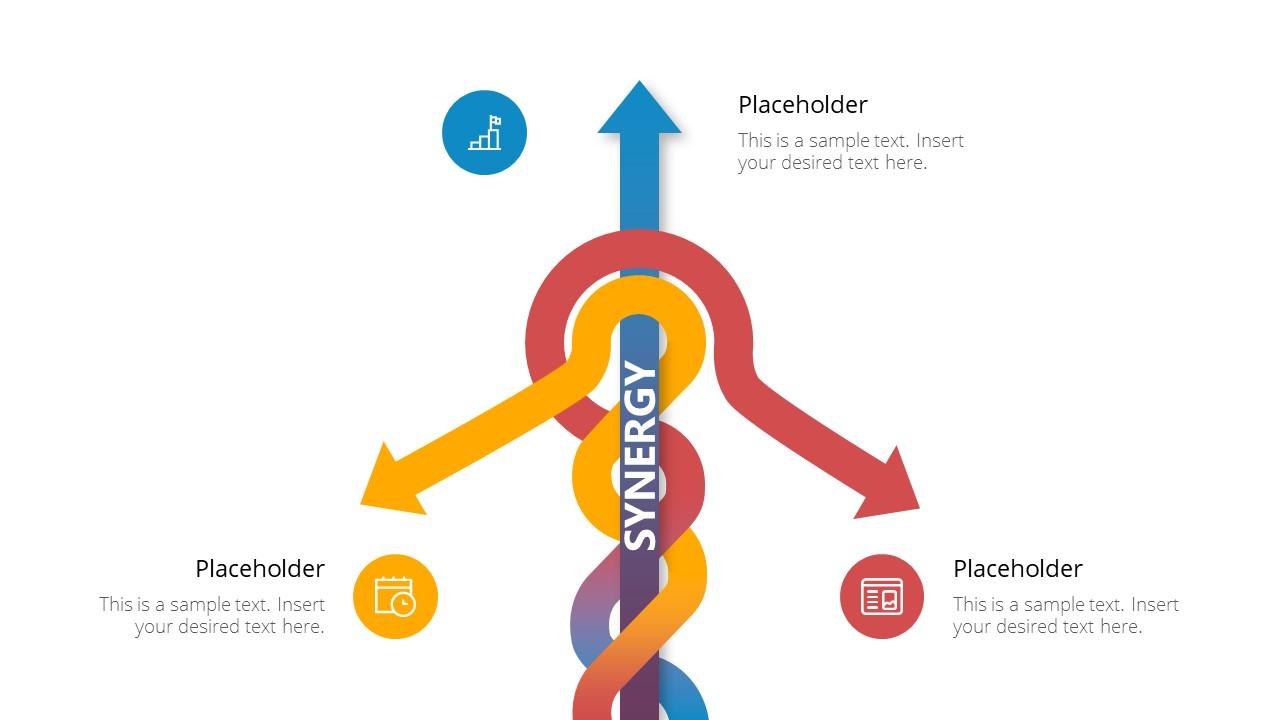 Arrow Diagram PowerPoint Template