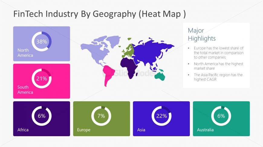 Geographical Heat Map Template