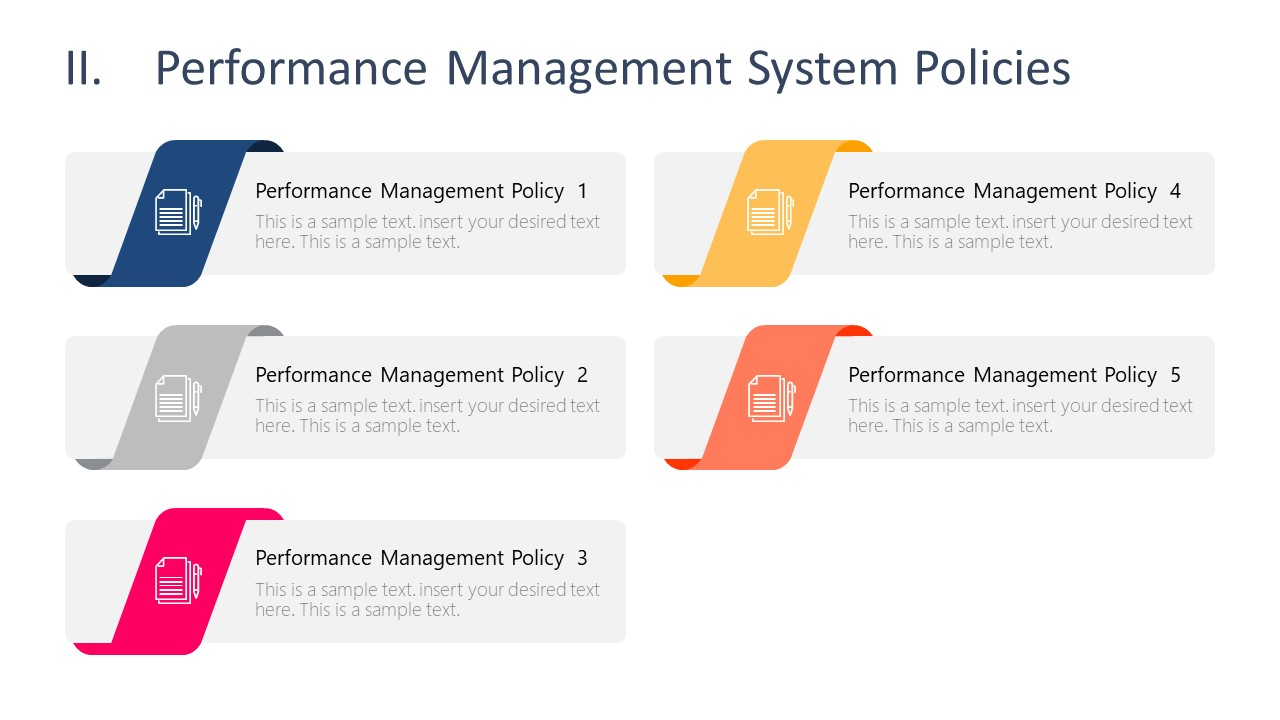 Template of Performance Management System Policies