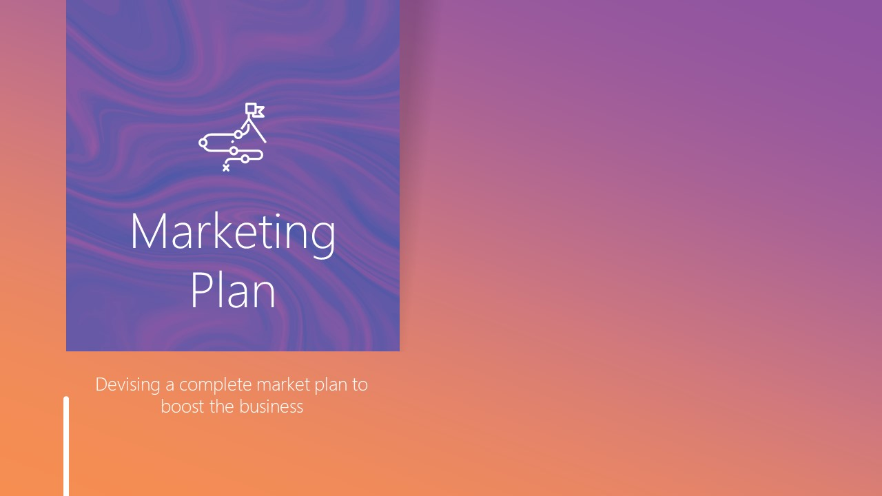 Marketing Plan Cover Slide