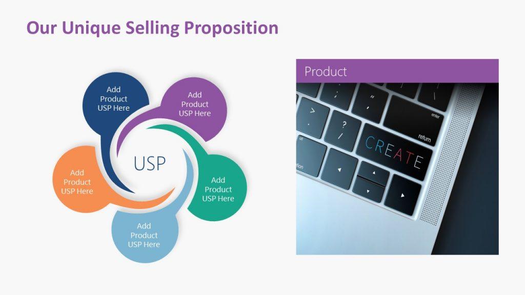 Unique Selling Proposition Slide for Presentations