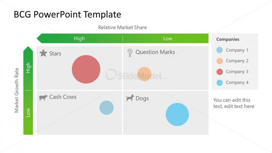 Framework of BCG Matrix Template