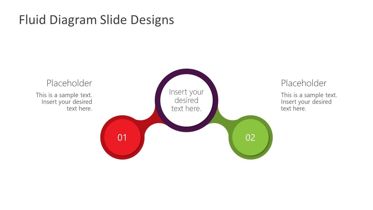 2 Steps Fluid Design Diagram Template