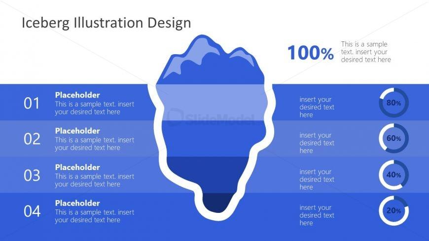 Editable Diagram of Iceberg Presentation
