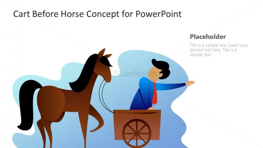 Presentation of Cart before Horse
