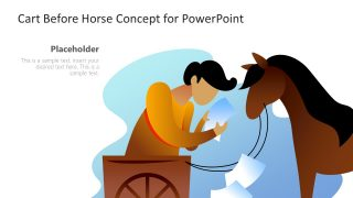Cart before Horse Illustration