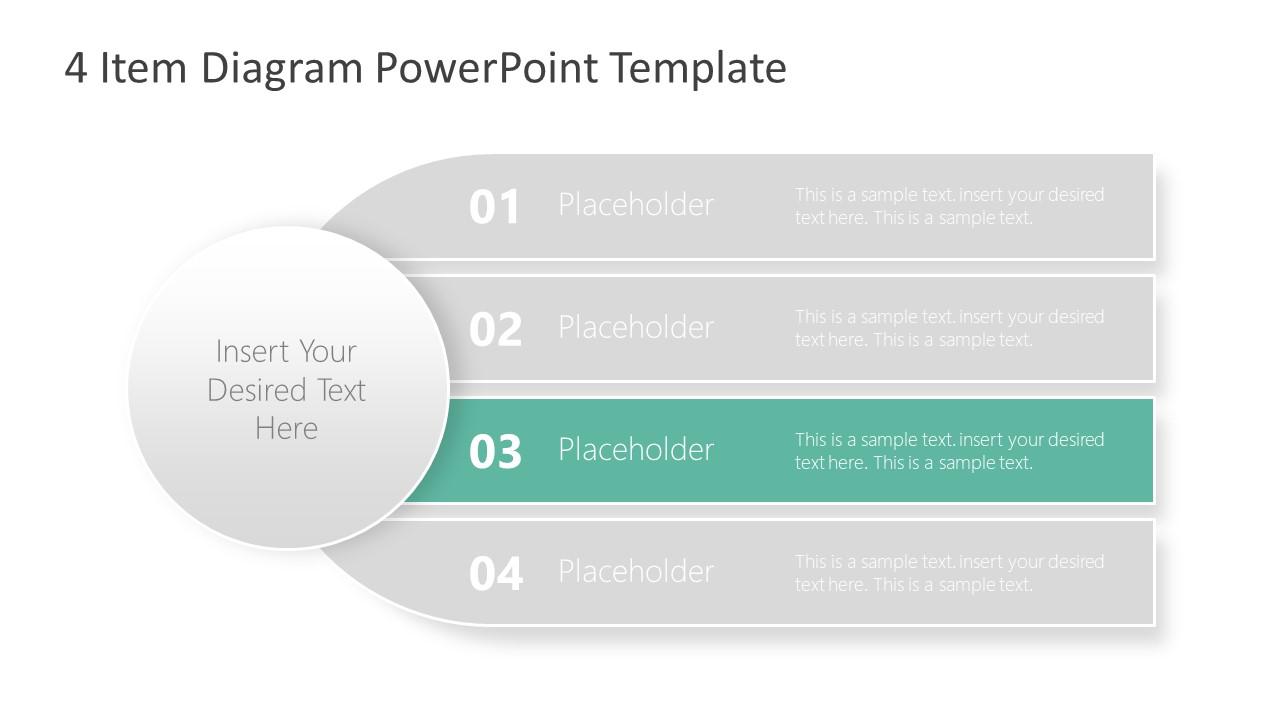 PowerPoint Agenda Template Diagram
