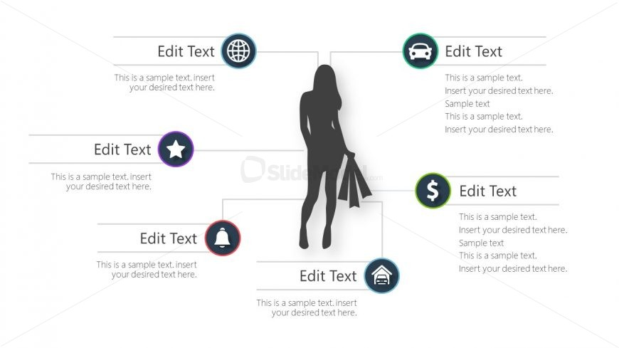 Slide of Female Consumer Profiling