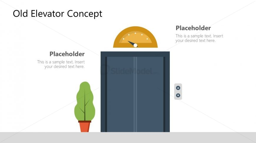 Old Elevator Shapes in PowerPoint