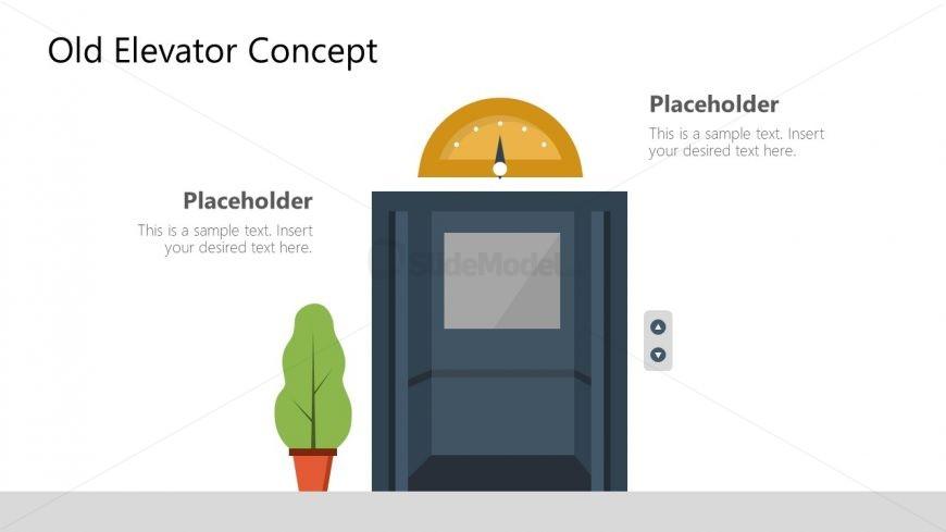 PPT Old Elevator Design Shapes