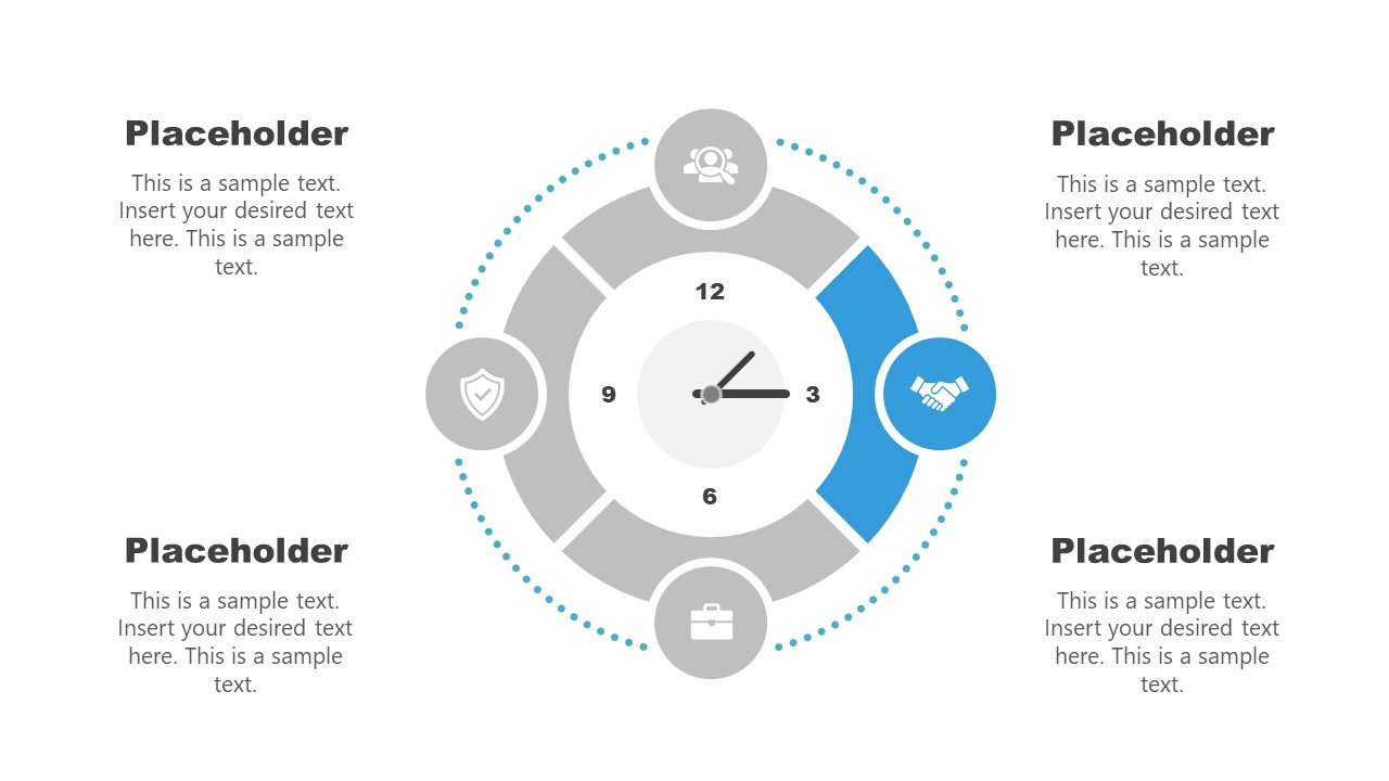 Clock Diagram Template Stage 2