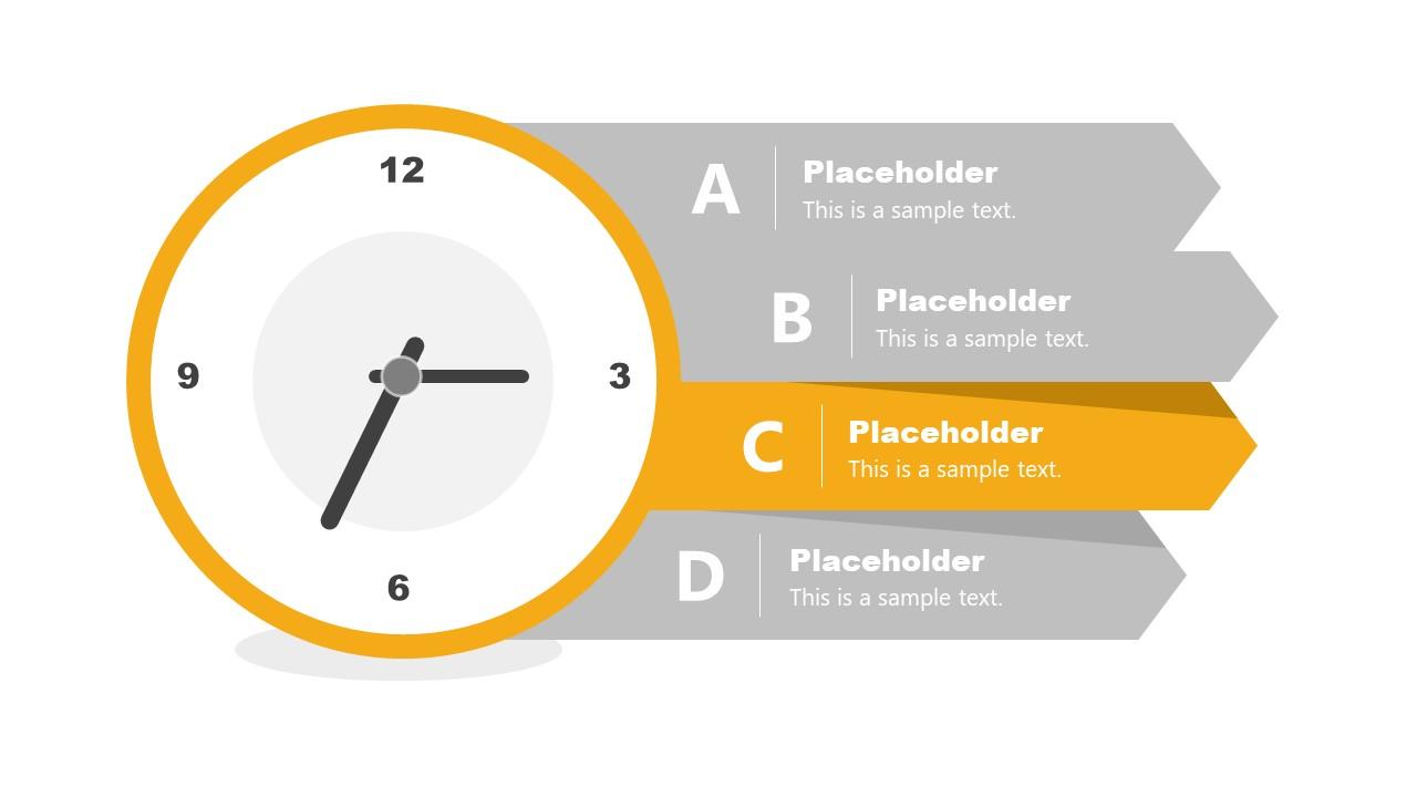 Presentation of Time Management Analog Clock