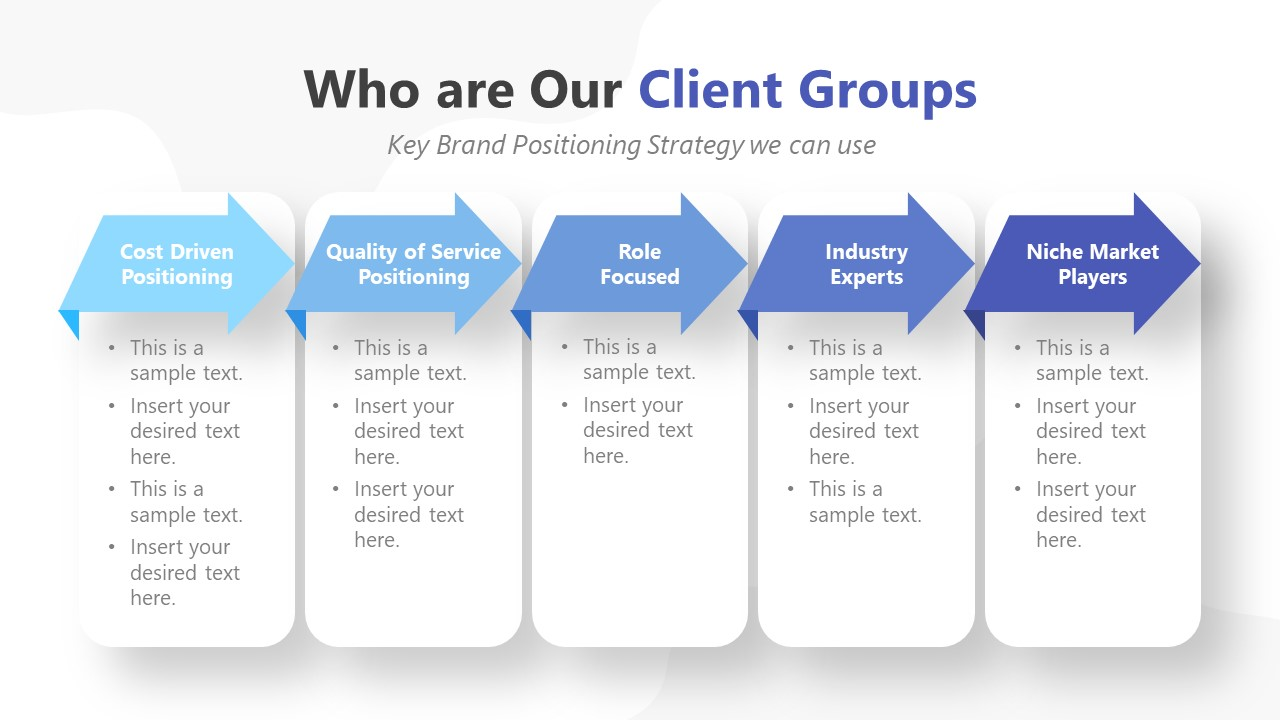 Presentation for Key Brand Positioning in Brand Marketing