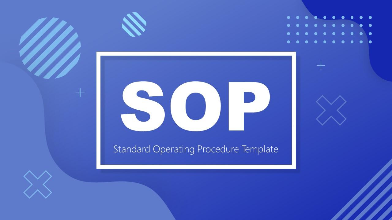 Slide Background for SOP Presentation