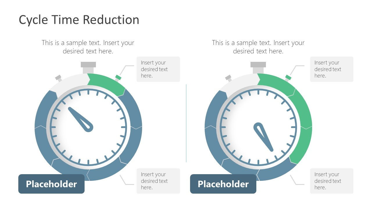 PPT CTR STopwatch Shapes