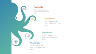 Infographic Octopus PowerPoint Diagram