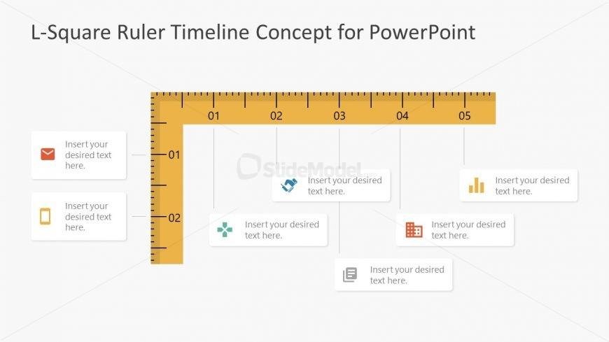 Presentation of L-Square Timeline PPT