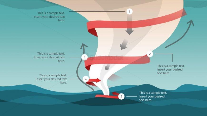 Waterspout Tornado Presentation Template