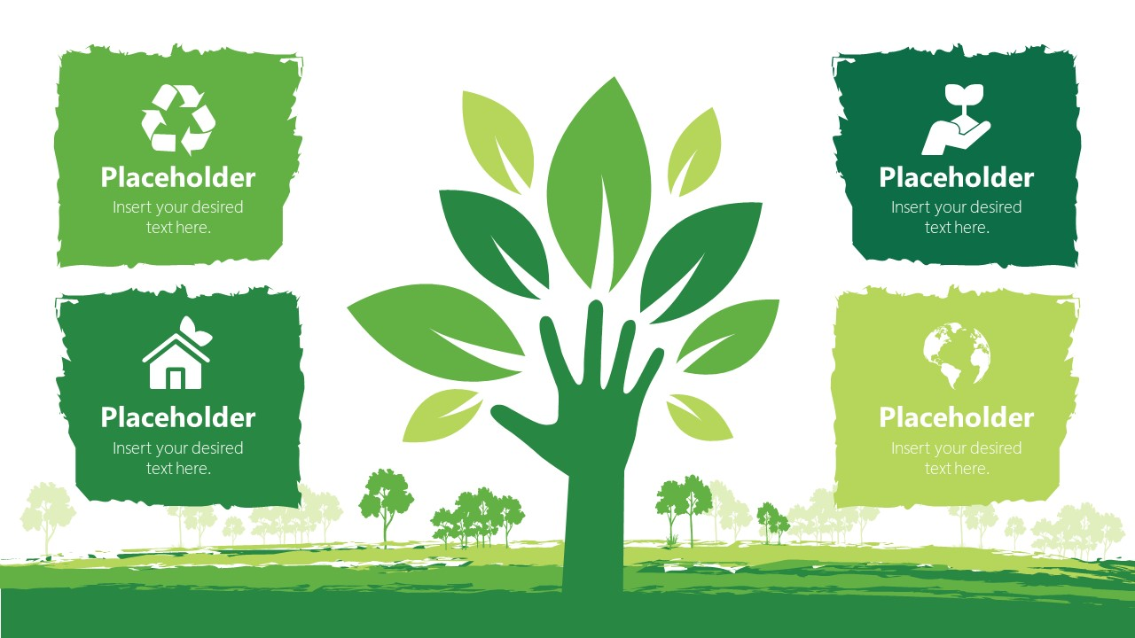 Green Ecology PowerPoint Template