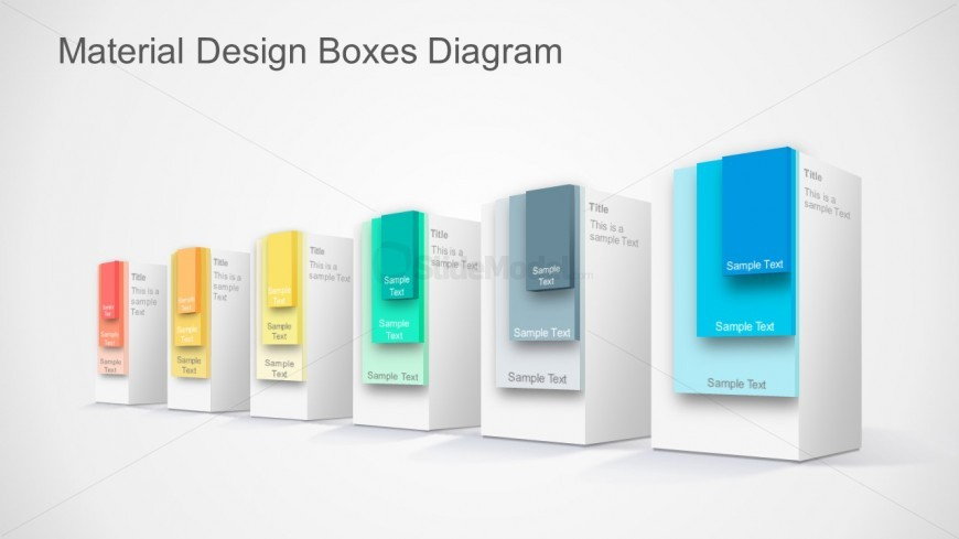 3D PPT Templates Material Design