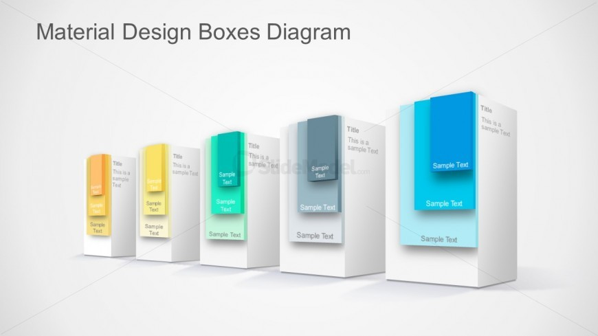 PPT Designs Featuring Material Design