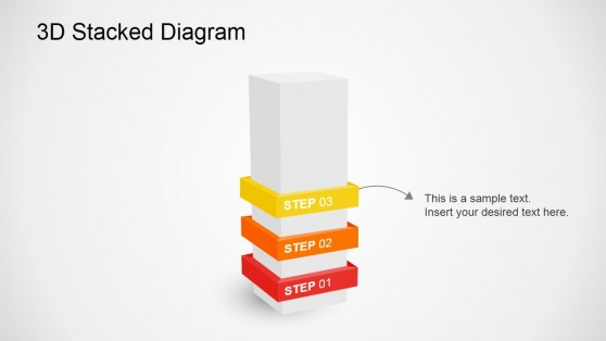 Third Step Slide Diagram for PowerPoint