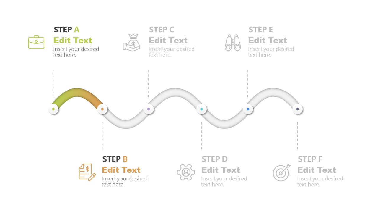 Gradient Snake Concept Diagram Step 2