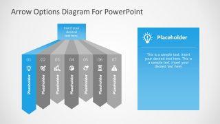 7 Steps Diagram Highlighting 1 Step