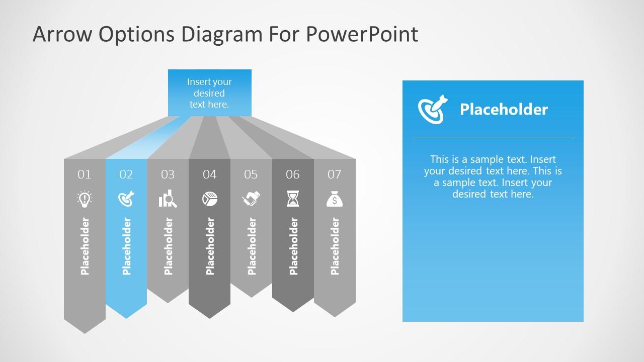 7 Steps Diagram Highlighting 2 Step