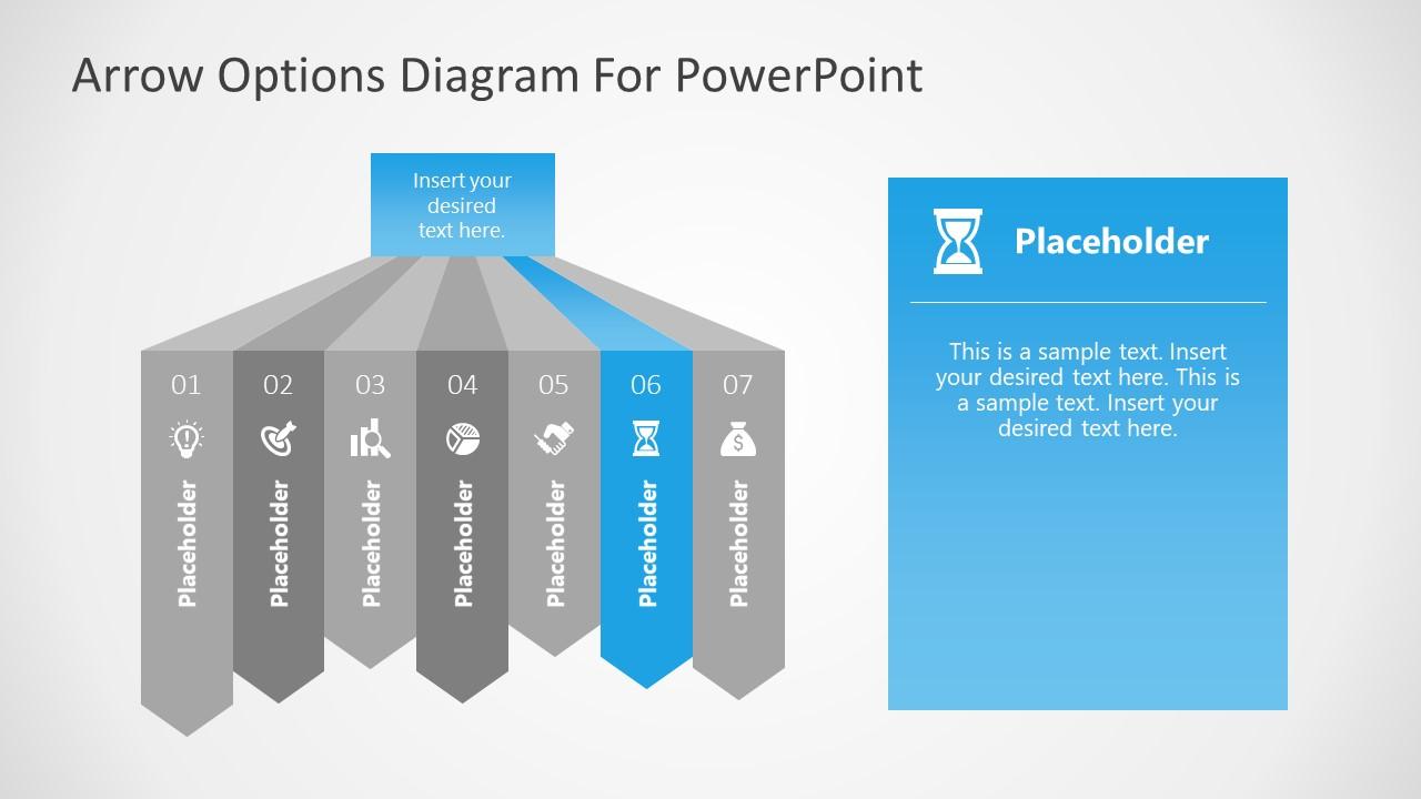 7 Steps Diagram Highlighting 6 Step