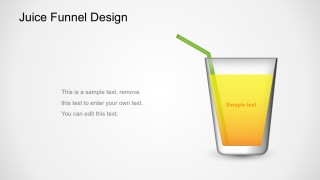 Editable  Juice Funnel Diagram Business PowerPoint