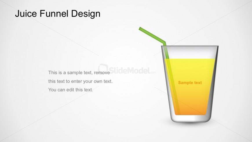 Editable  Juice Funnel Diagram Business PowerPoint