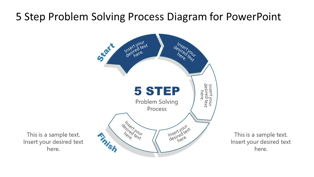 PowerPoint Diagram of Problem Solving Process Step 2