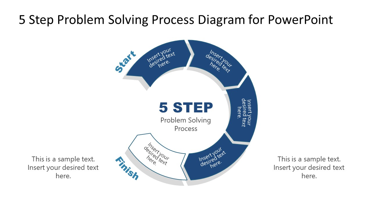 PowerPoint Diagram of Problem Solving Process Step 4