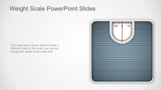 Editable Weighing Scale PowerPoit Graphics