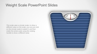 Editable Weight Scale PowerPoint Design Slides