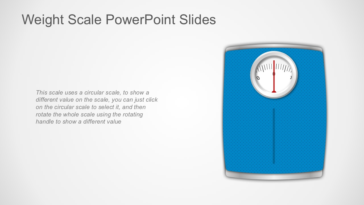 Weighing Scale PowerPoint Slides