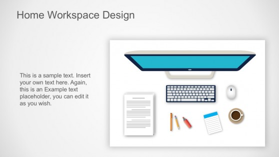 Workspace Illustration PowerPoint Vectors