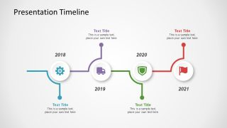 4 Milestone Timeline of Infographics