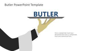 PPT Presentation for Butler Serving Food
