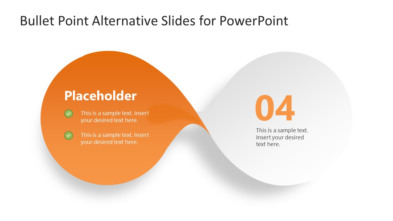 PowerPoint Bow-Shaped Diagram Step 4